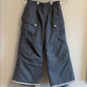 Hanna Andersson thermolite gray boy's pants